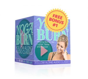 yoga burn follow-along audio classes