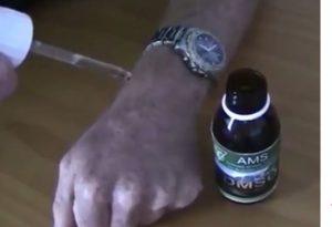 Pain relief oil drop